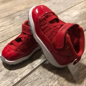 Toddler Red Jordan's